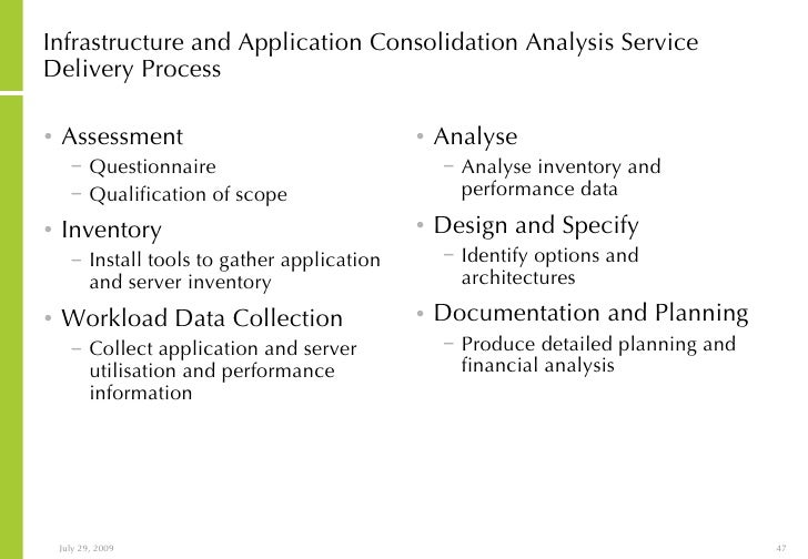 application and infrastructure risk assessment