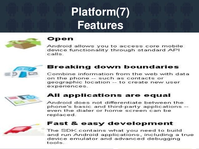 mobile application development using android ppt
