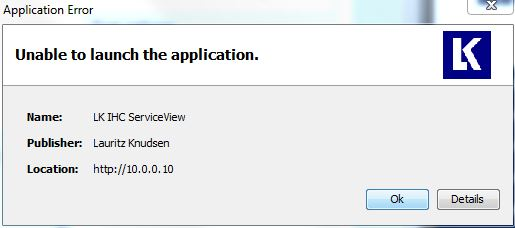 unable to launch application 2000