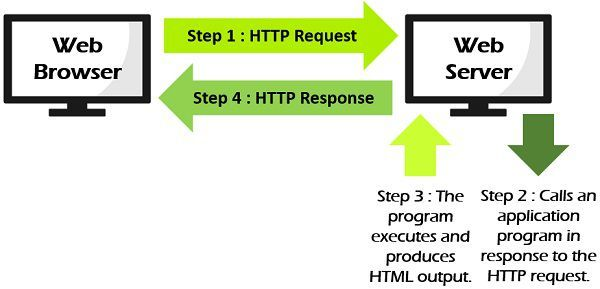 difference between static and dynamic web application