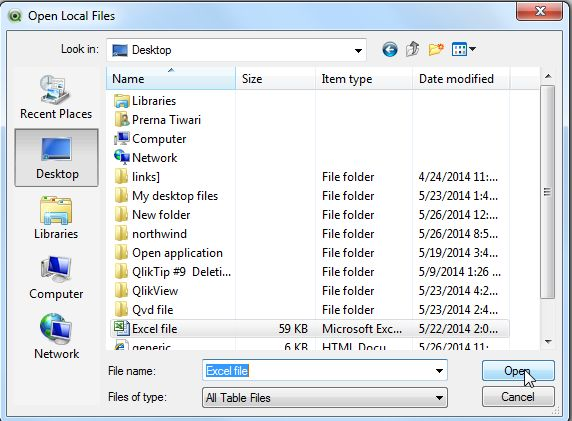 which application to open file