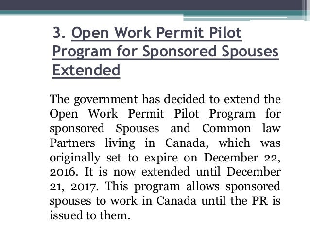 canada application to extend work permit