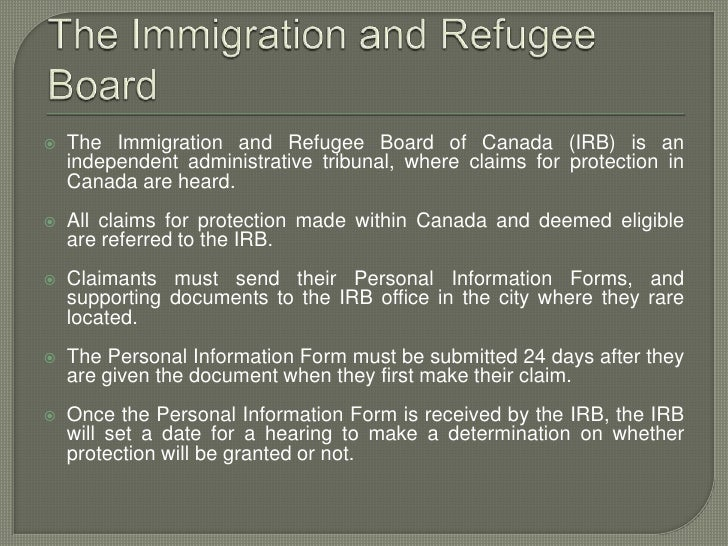 immigration application canada sent to missisauga