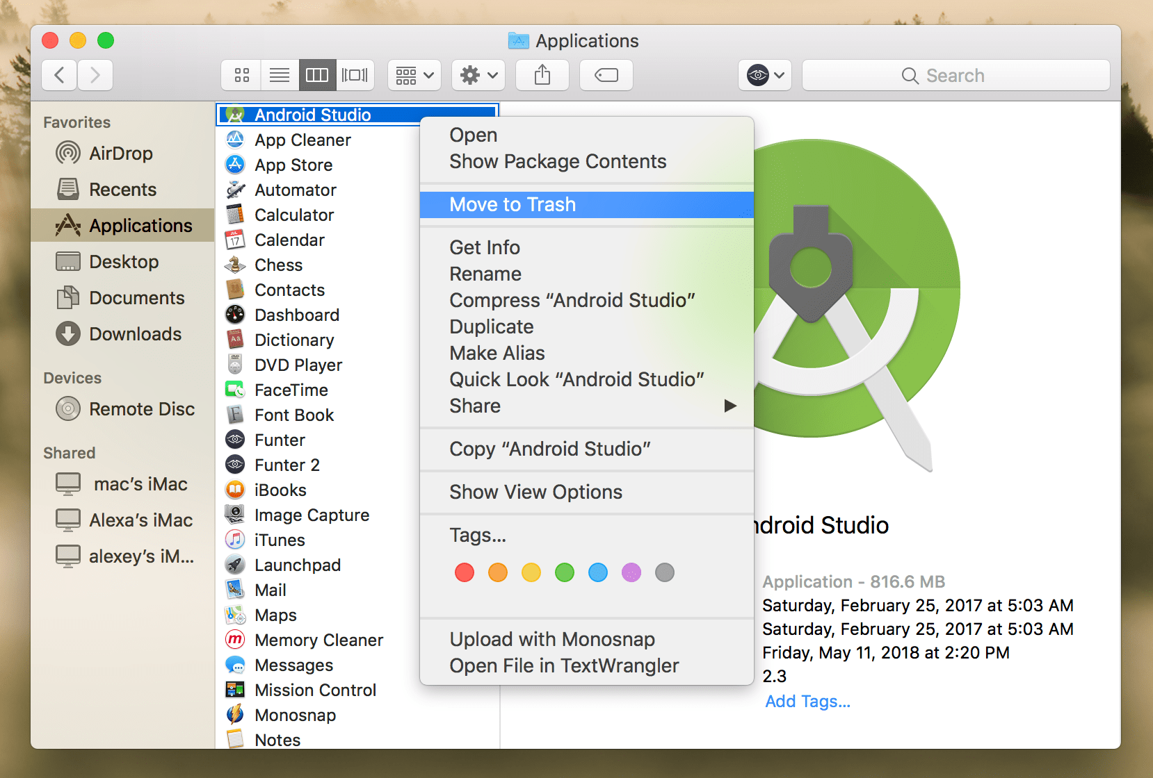 how to uninstall applications on mac completely