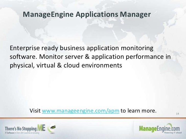 manageengine applications manager free edition