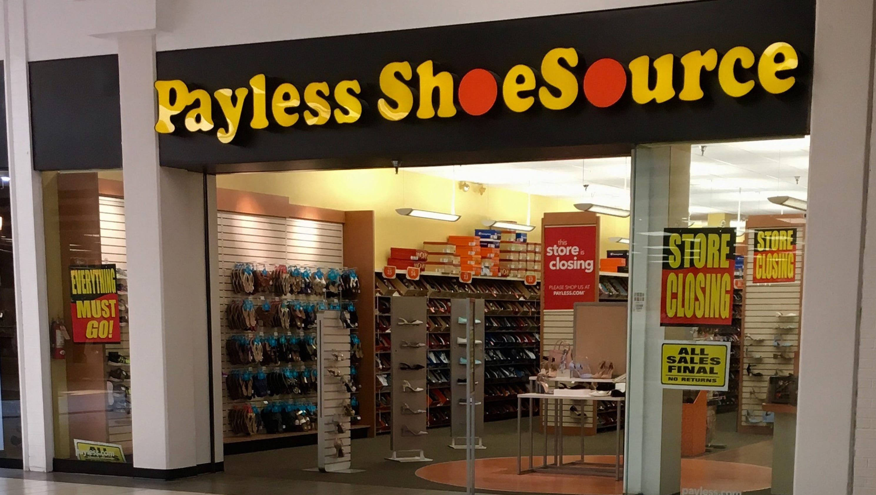 payless shoe source application print out